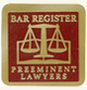 The Bar Register of Preeminent Lawyers